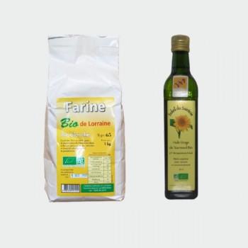 Farine lorraine, huile lorraine | Les Saveurs du Colombier